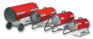 Noleggio generatore aria calda Torino