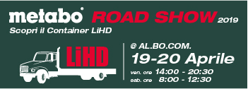 Evento Metabo ROAD SHOW Aprile 2019